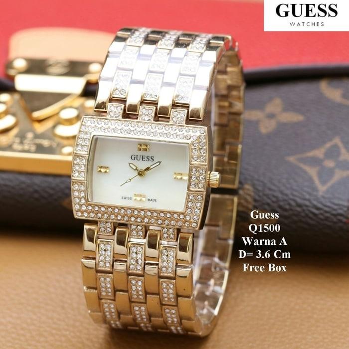 Harga Jam Tangan Wanita Super Murah Guess Q1500 Online - Katalog ... 19d0b3082b