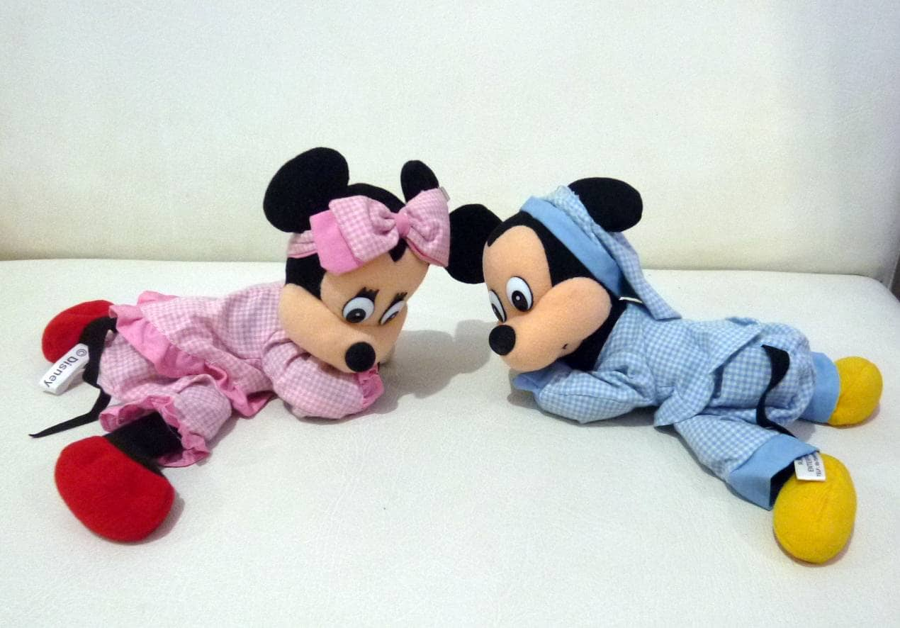 Jual Boneka Mickey Mouse Minnie Mouse Original Disney Couple ... daf0afc3c0