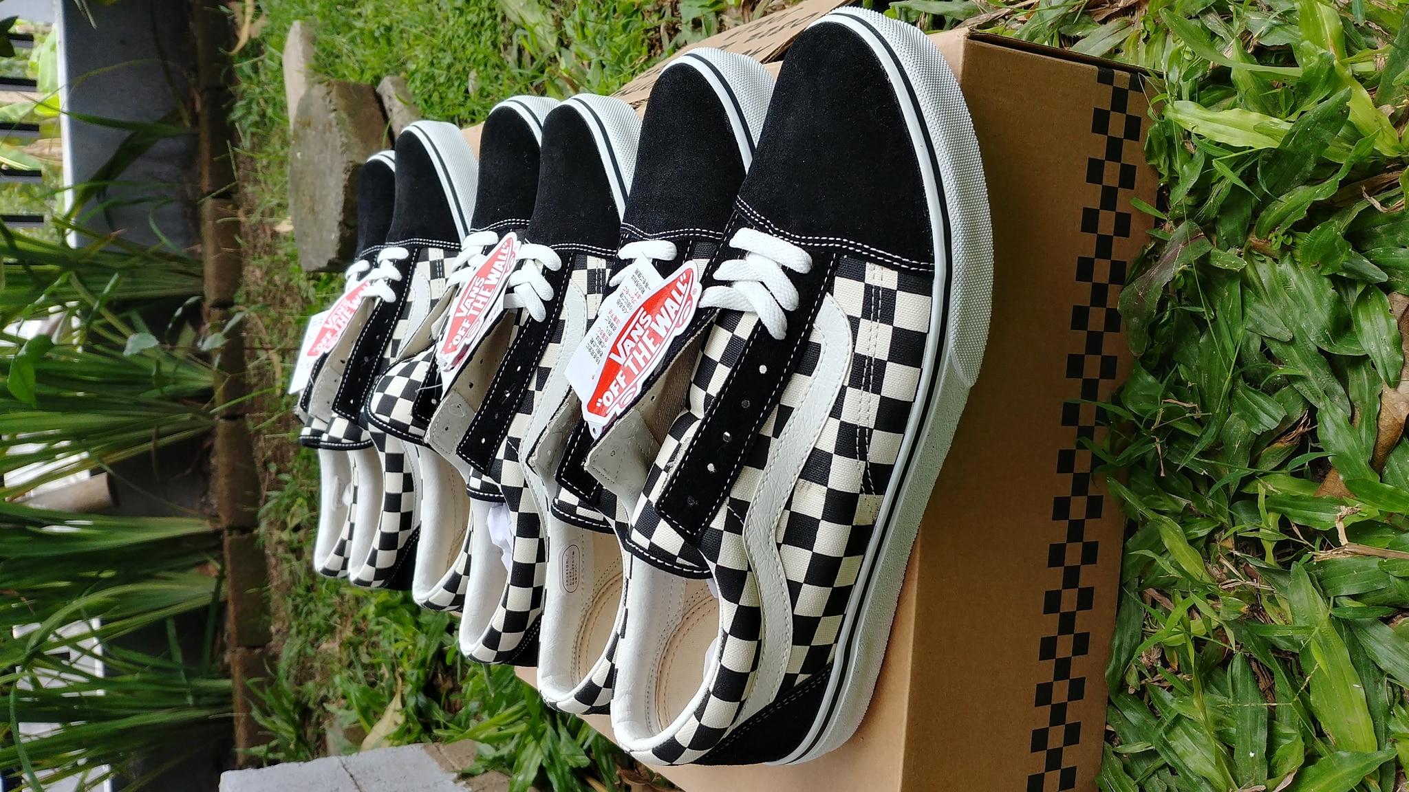 Jual Vans Oldskool Checkerboard Japan Market Original - Kota ... 9c001fb37