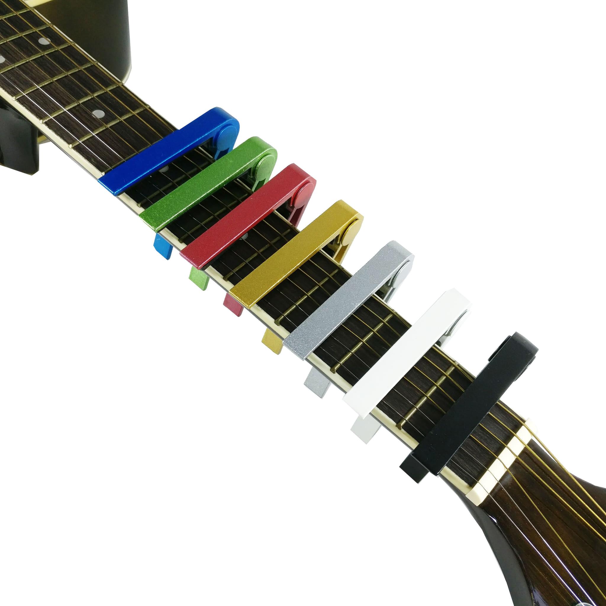 Oh Capo Gitar Untuk Akustik Dan Eletrik Warna Perak Daftar Cort Elektrik Sfx Me Op 402000734 Impor Berkualitas Rock You Cp 591 Ukulele