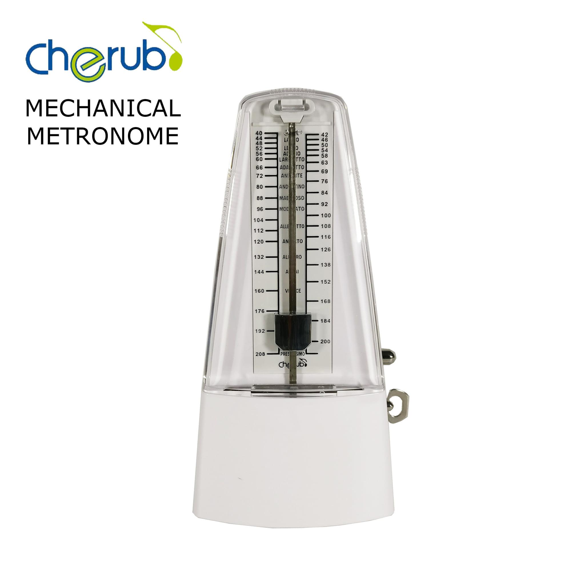 harga Metronome Mekanik Cherub Wsm - 330 White Blanja.com