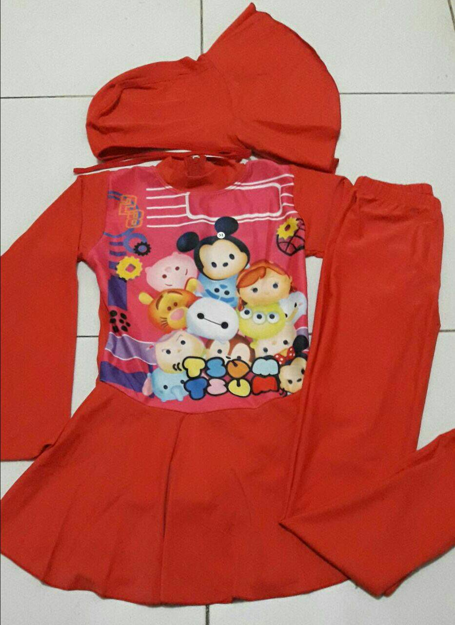 Jual Baju Renang Muslim Anak Sd Gambar Tsum Size M L Xl Toko  Celana Pria Cln 225 Ntshopp Tokopedia