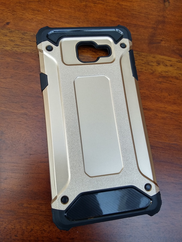 Samsung Galaxy A3 2016 Defender Armor Case - Soft Gel  Polycarbonate