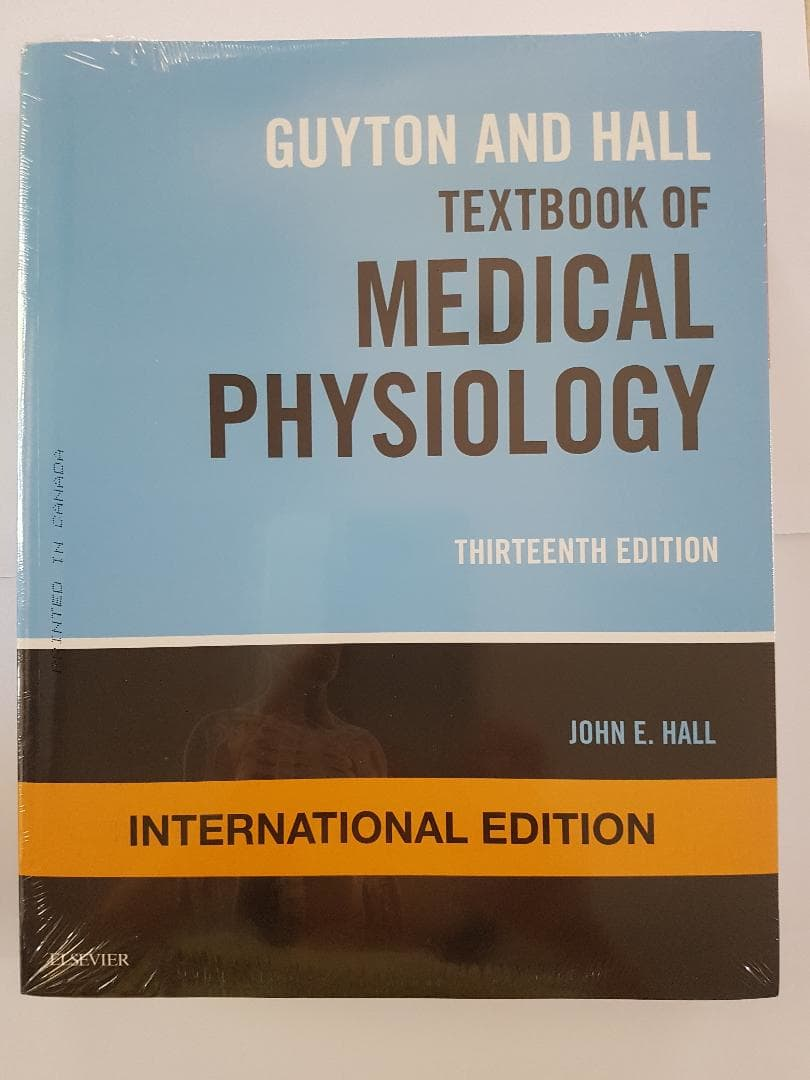 [ORIGINAL] Guyton Textbook of Medical Physiology 13e