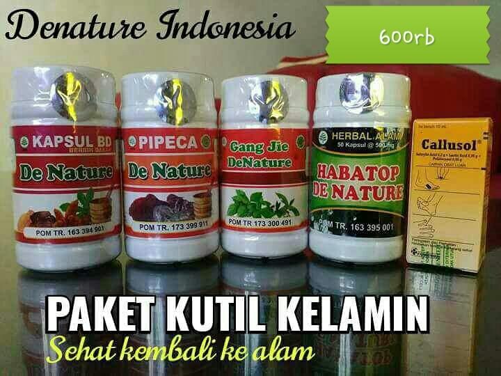 Obat Kutil Kelamin Herbal De Nature Ampuh
