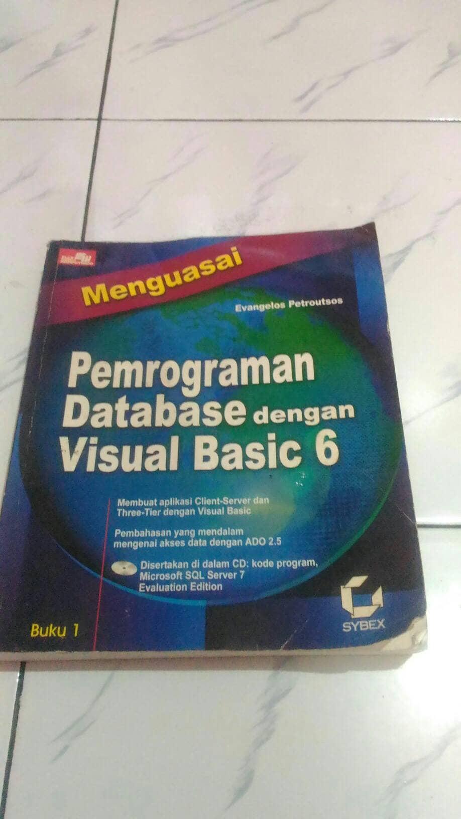 menguasai pemrograman database dengan visual basic 6