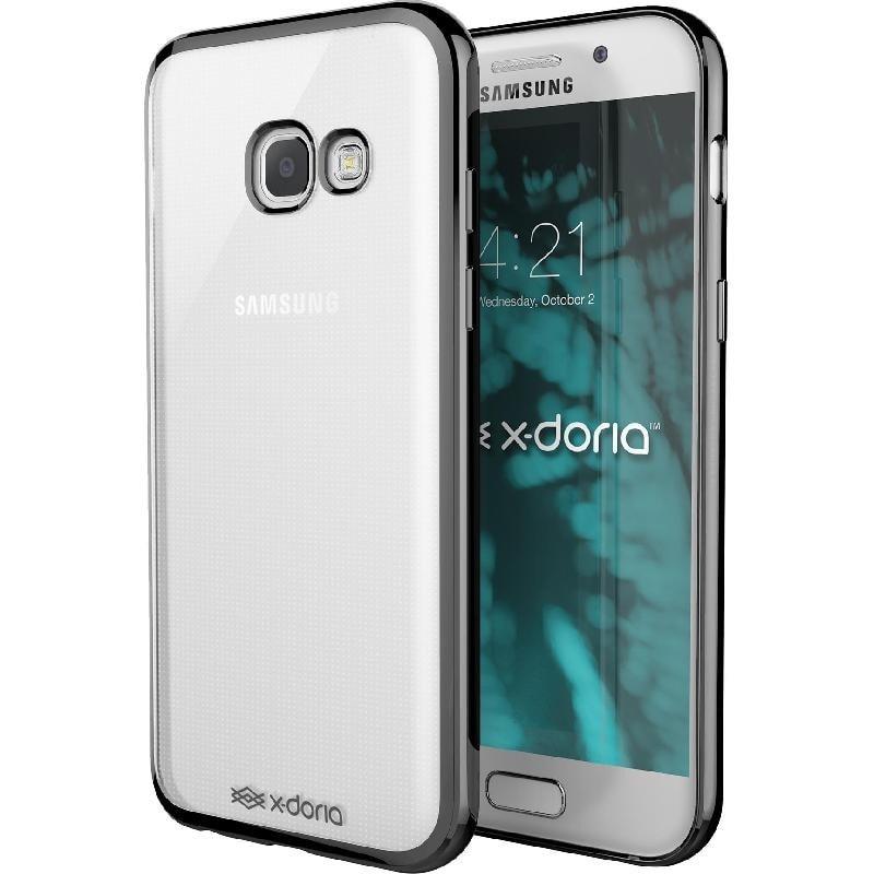 X-DORIA Galaxy A5 2017 Case Gel Jacket - Clear Black