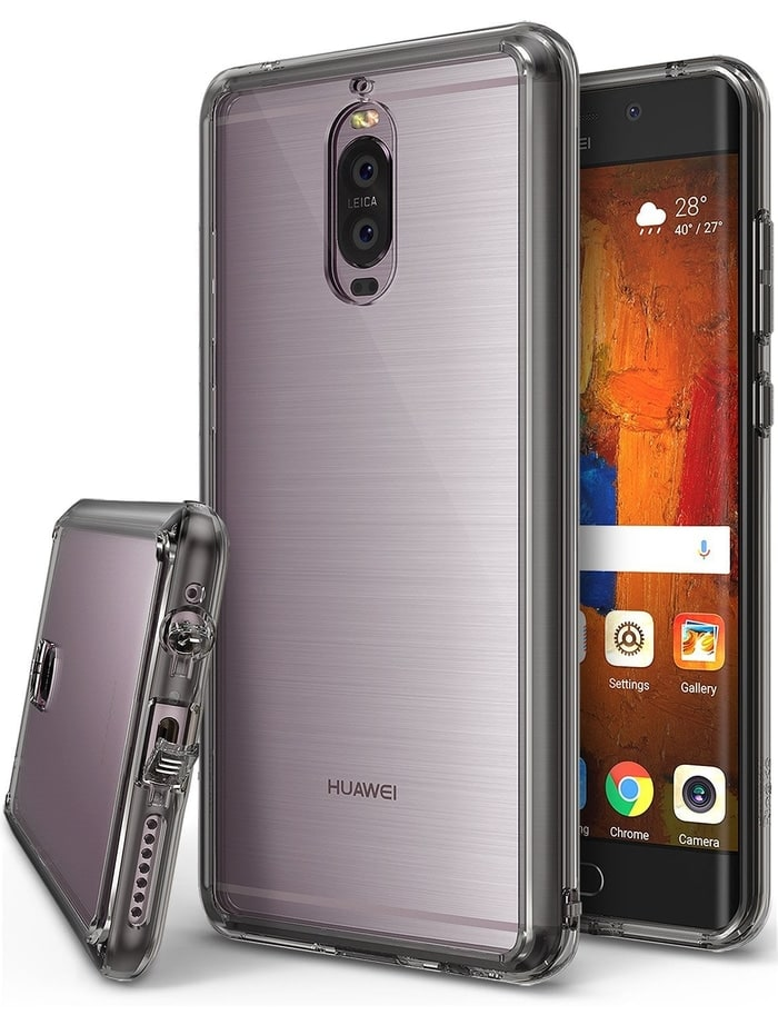 Rearth Ringke Huawei Mate 9 Pro Case Fusion - Smoke Black