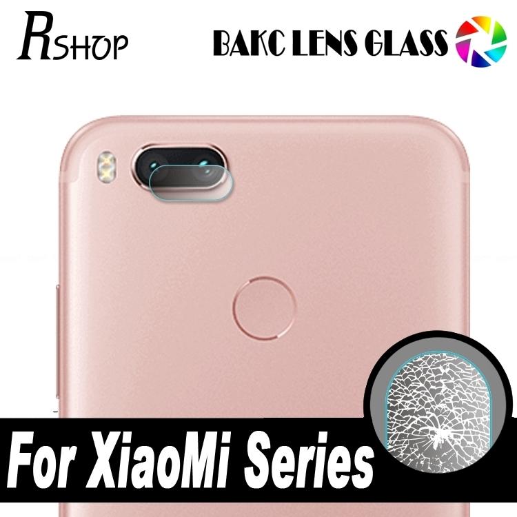Xiaomi Mi A1 Camera Tempered Glass Lens Protector - Clear