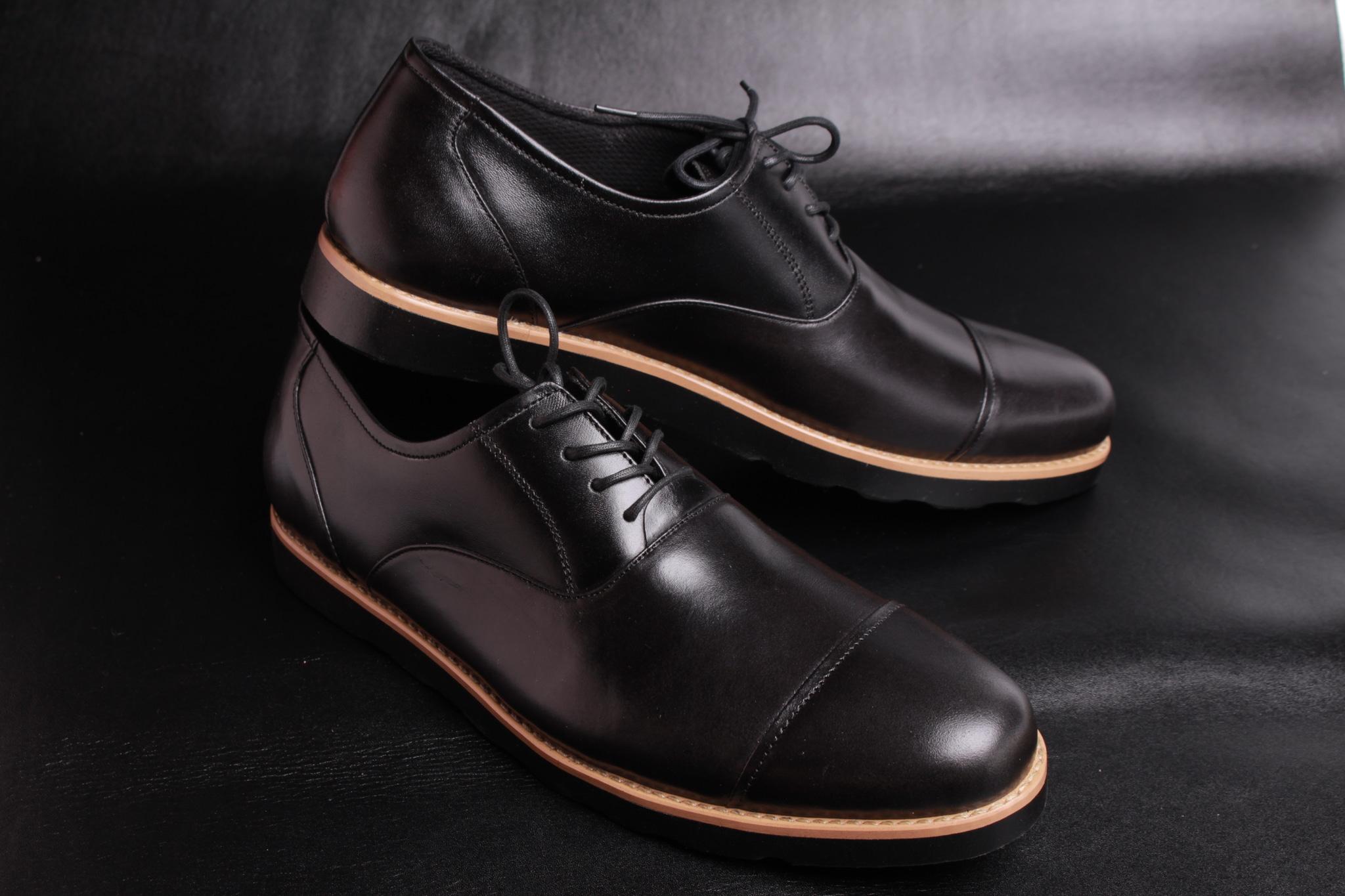 ... Sepatu Pantofel Pria Sepatu Kulit Asli Sepatu Formal Boston Zico -  Blanja.com ... 26f5b592b2