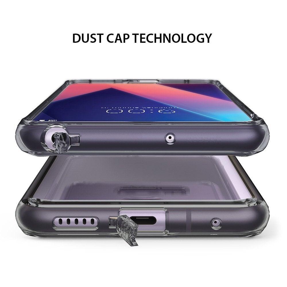 Ringke LG V30 Case Fusion - Smoke Black