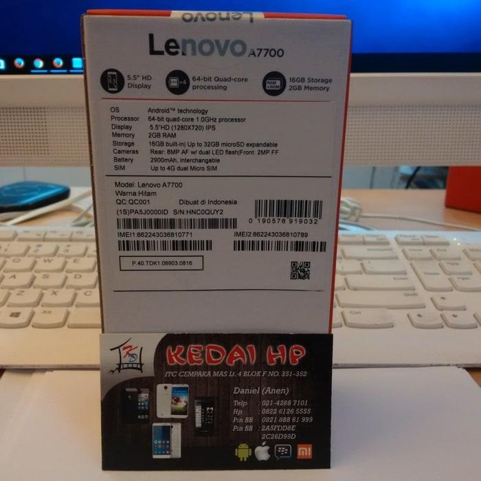 Lenovo A7700 55 2gb16gb 4g Lte Hitam Free Mmc 16gb Jelly Case Lenovo ... - Jual LENOVO A7700 .
