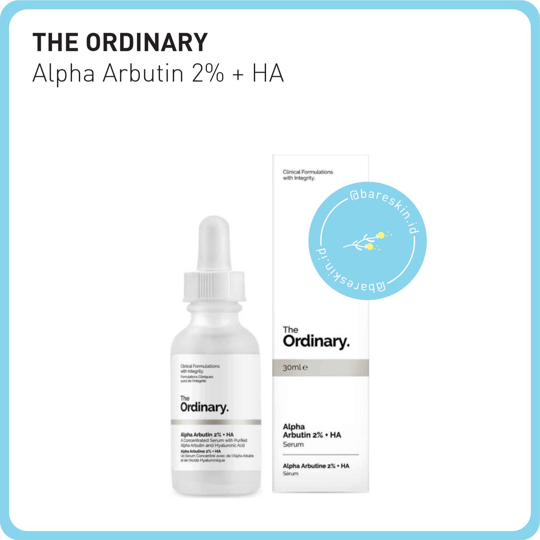 Jual The Ordinary Alpha Arbutin 2 Ha 30ml Bareskin Tokopedia Ha30ml