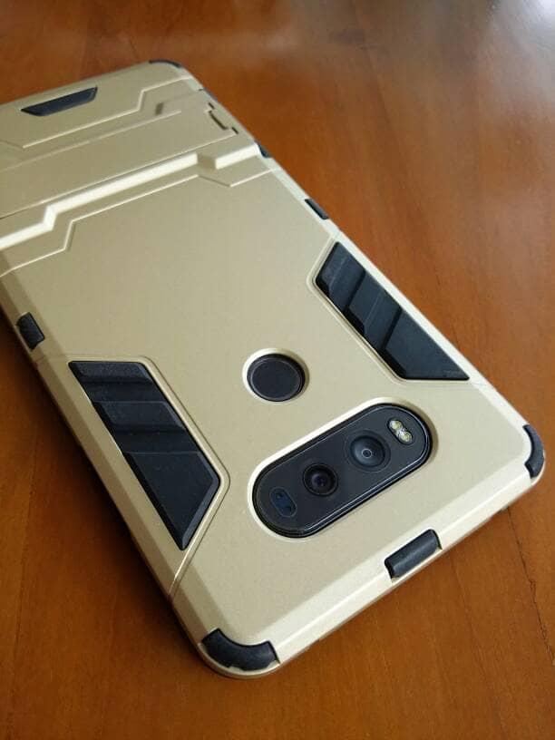 LG V20 Knock Slim Hybrid Armor Case
