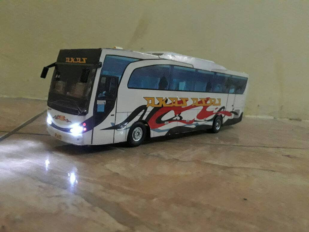 Jual Miniatur Bis Akas Asri Kota Surabaya Miniatur Bis