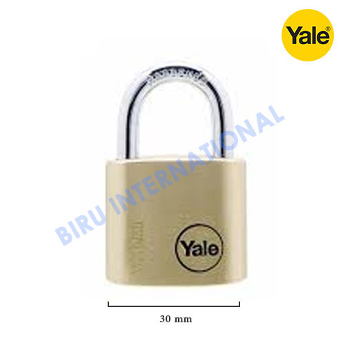 Gembok YALE Y110/30/117/1 (Classic Series Outdoor Solid Brass Padlock)