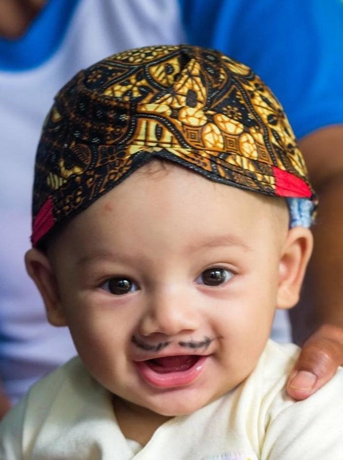 DISKON blangkon jogja solo bayi anak murah pelengkap baju adat jawa d7606005ab