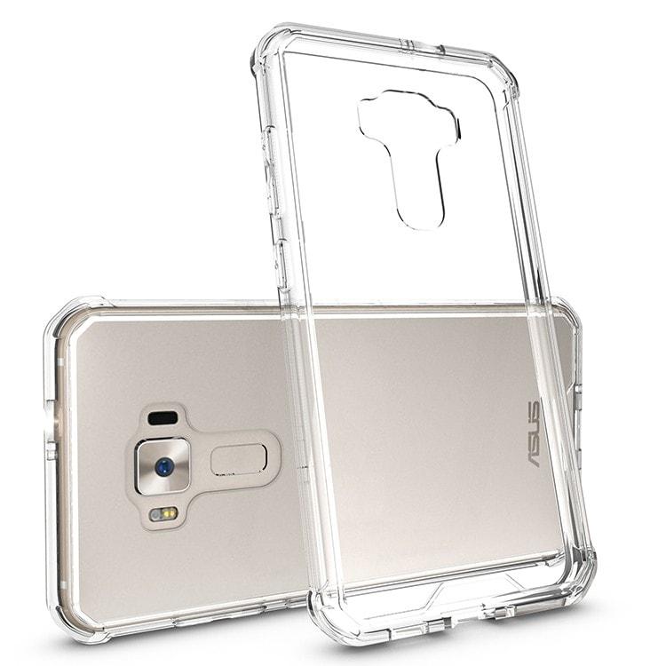 ASUS Zenfone 3 5.5 Clear Back  Panel TPU Cushion Hybrid Case
