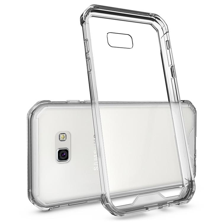 Samsung Galaxy A5 2017 Clear Back  Panel TPU Cushion Hybrid Case