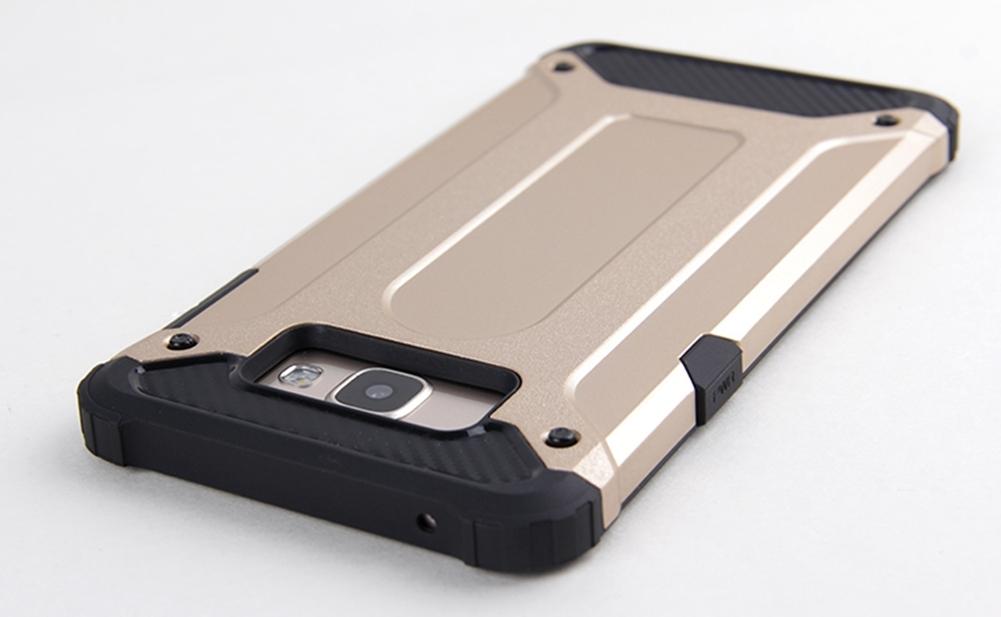Samsung Galaxy A9 PRO Defender Armor Case - Soft Gel  Polycarbonate