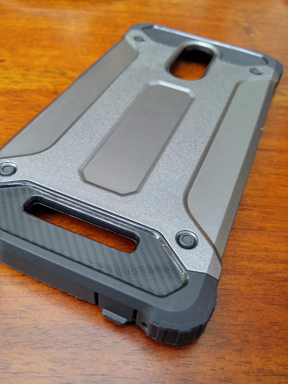 Xiaomi Redmi Note 4 4X Defender Armor Case - Soft Gel  Polycarbonate