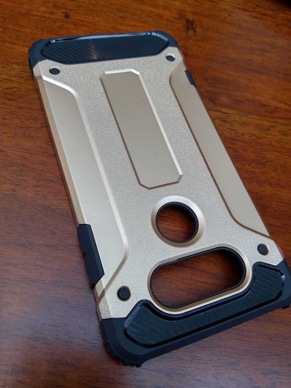 LG G6 Defender Armor Case - Soft Gel  Polycarbonate