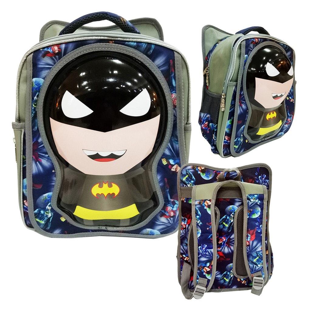 Jual Tas Anak Ransel SD Import Batman Kepala 6D Model Unik ... f8f67faa55