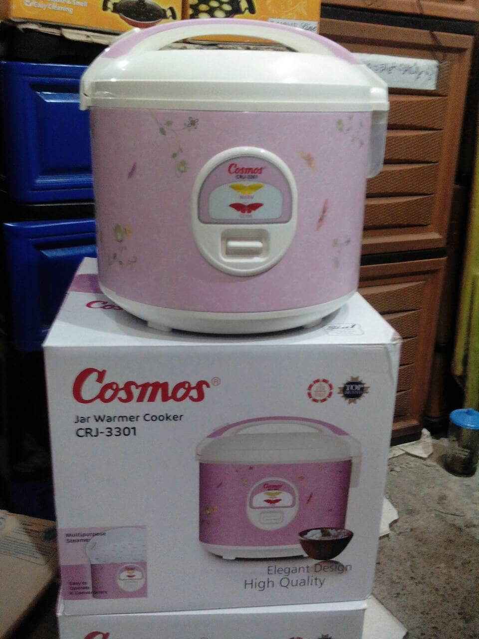 Jual Magic Com Cosmos 18 Ltr 3 In 1 Suciberdikari Elektrik Rice Cooker Crj 3301 Tokopedia