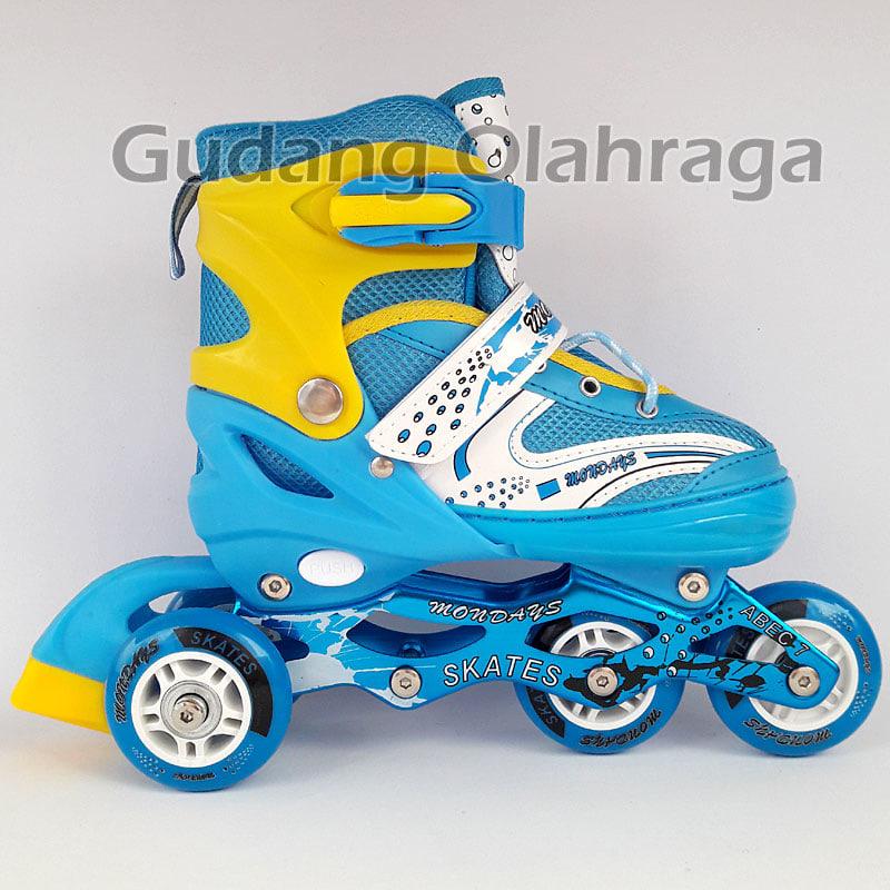 ... Sepatu Roda Bajaj Harga Grosir !! Inline Skate Anak Dan Dewasa -  Blanja.com 46bab356ce