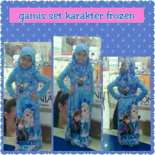 BELI busana muslim anak perempuan gamis anak dress anak baju syari anak d30d1ba6e6