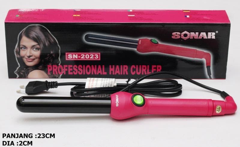 Catokan Sonar Sn-2023 Pengeriting Rambut , Curly Tong Sonar - Blanja.com
