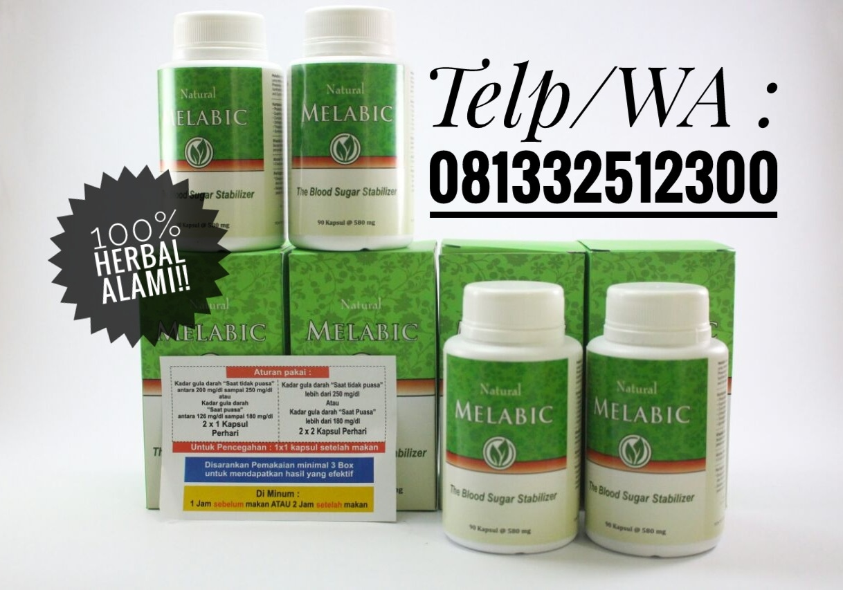Jual Paket 4 Botol Melabic Ocydiasolo Tokopedia Herbal 90 Kapsul The Blood Sugar Stabilizer