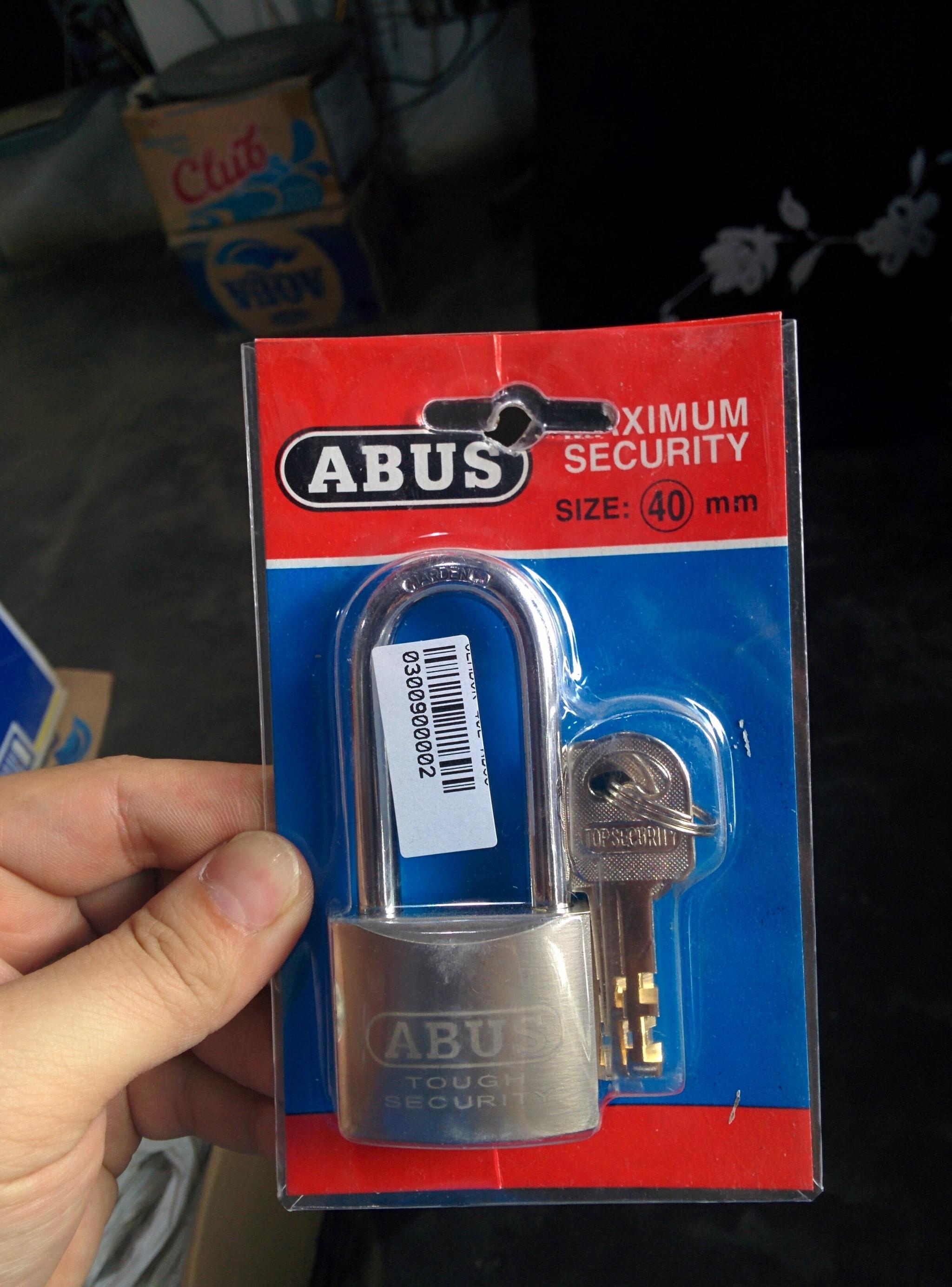 Jual Gembok Pagar Rumah Toko Leher Panjang Abus 40mm Bibonlineshop 50 Mm Tokopedia