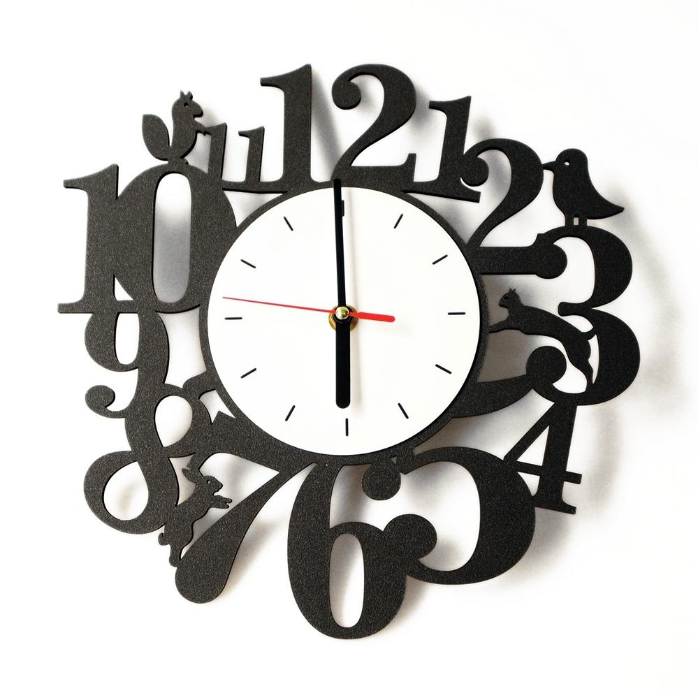 Jual Jam Dinding Unik   Animal Kingdom Diy Wall Clock  b84a9fdb18