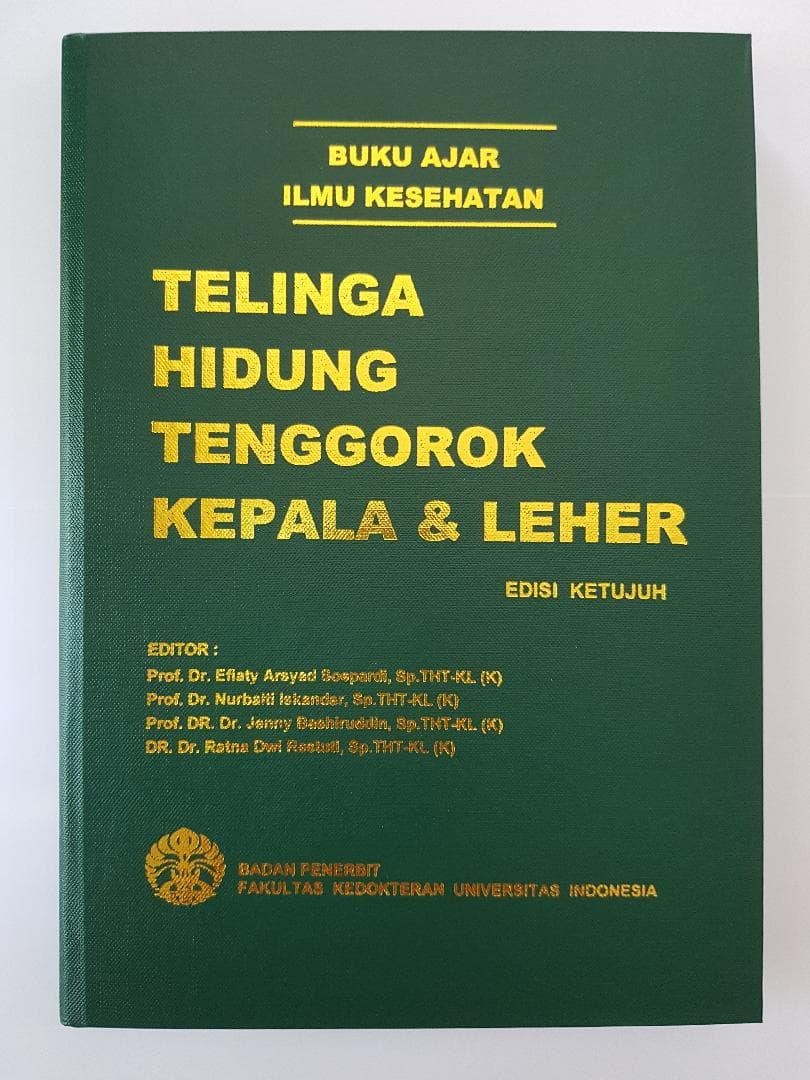 [ORIGINAL] Buku Ajar Telinga Hidung Tenggorokan 7ed. FKUI