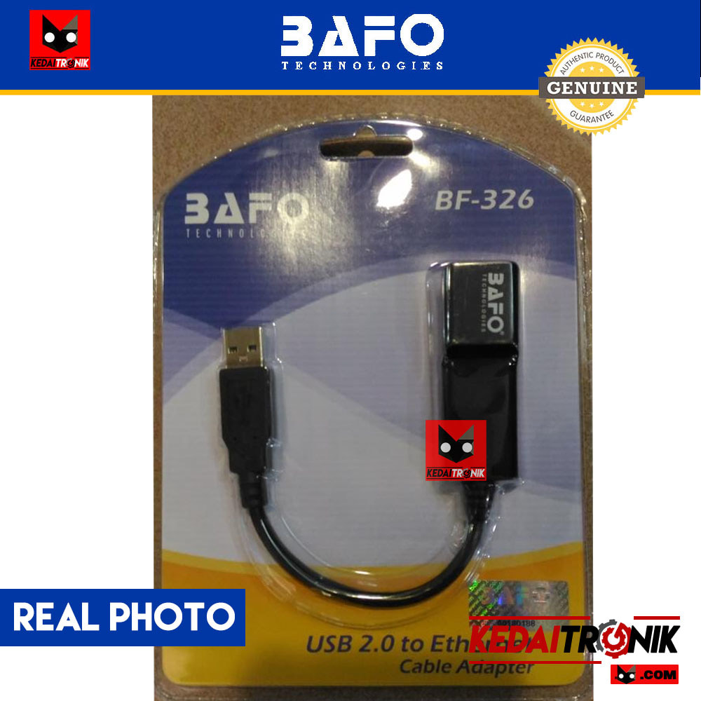 Jual Converter Usb Lan Bafo Bf 326 Ethernet Rj45 Original Kabel Adapter To