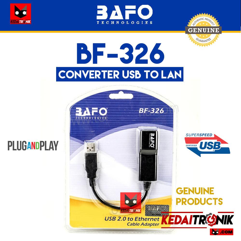 Usb Converter To Lan Biru Update Daftar Harga Terbaru Indonesia Adapter Ethernet Rj45 Bafo Bf 326 Original Kabel