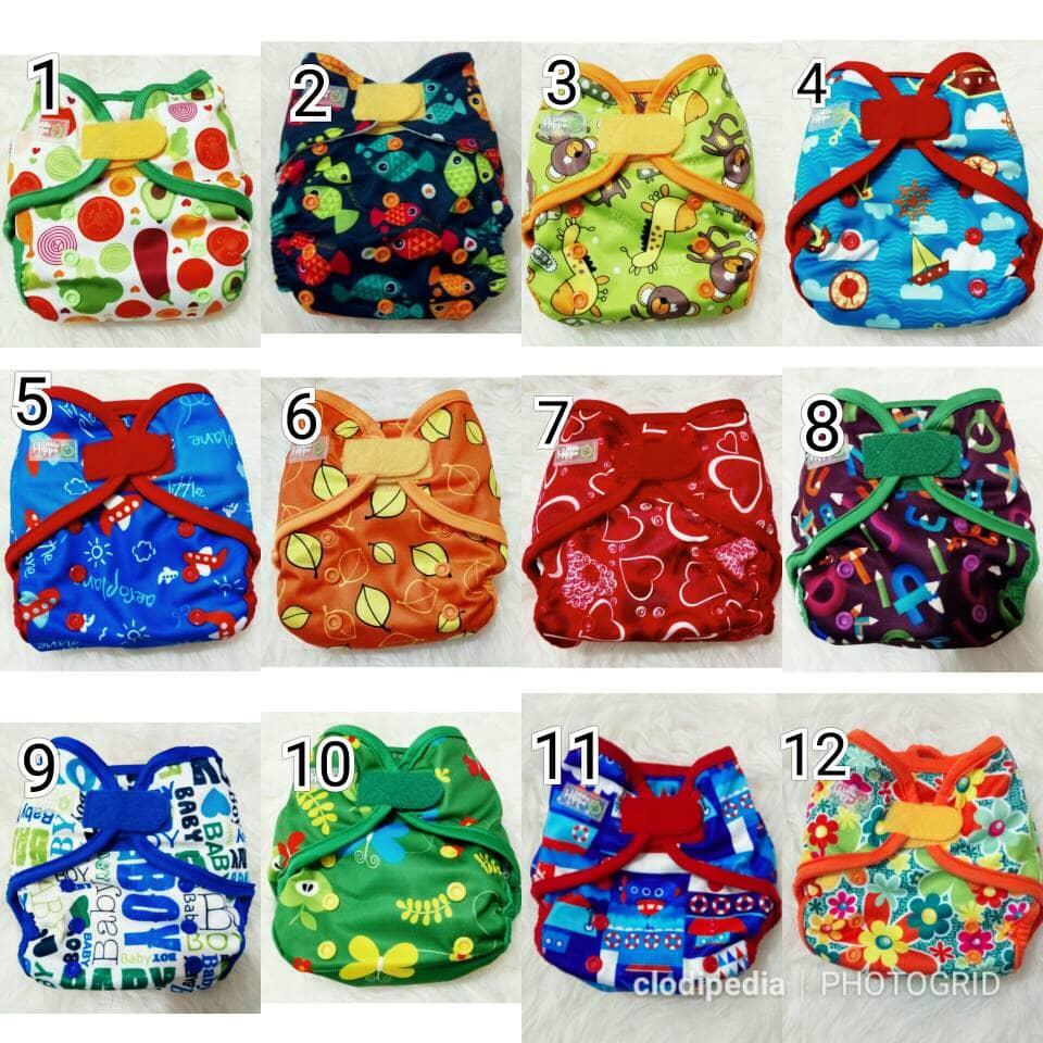 Jual Clodi Little Hippo Teenyfit Print Newborn Annisa Popok Kain Bogor Tokopedia