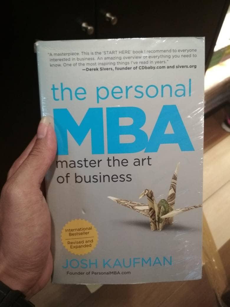 Jual THE PERSONAL MBA by Josh Kauffman [English] - Kab