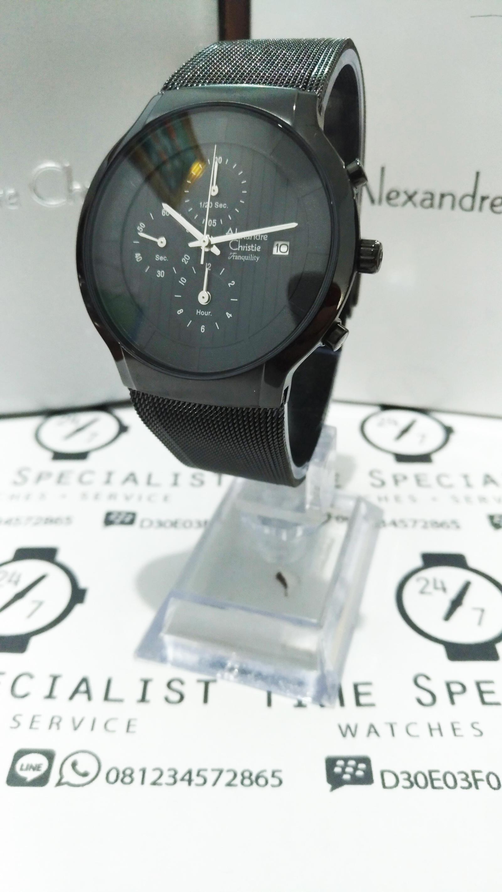 Jual Jam Alexandre Christie AC 6245 IP Garansi Resmi 1 tahun 24 7 Time Specialist