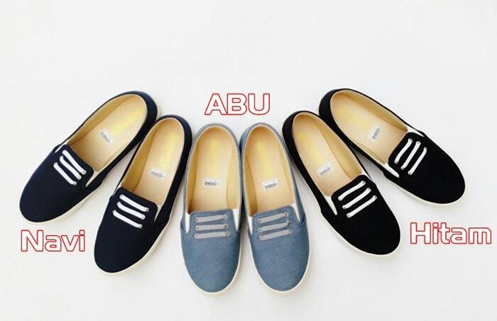 Sepatu Wanita - Flat shoes - Sepatu Casual T3