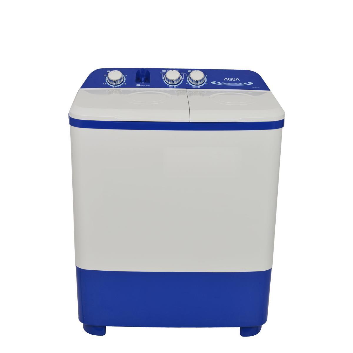 Mesin Cuci Aqua Sanyo QW771XT,new model,7kg,harga dijamin murah