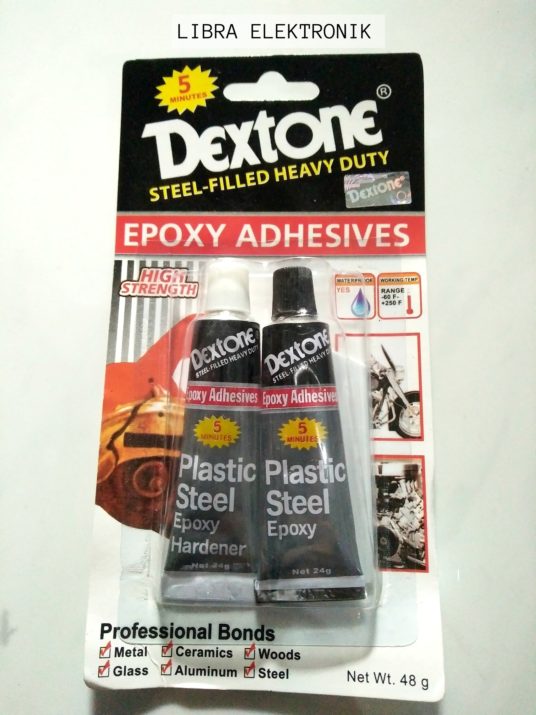 harga Lem Dextone Glue Combain Hitam Putih Blanja.com