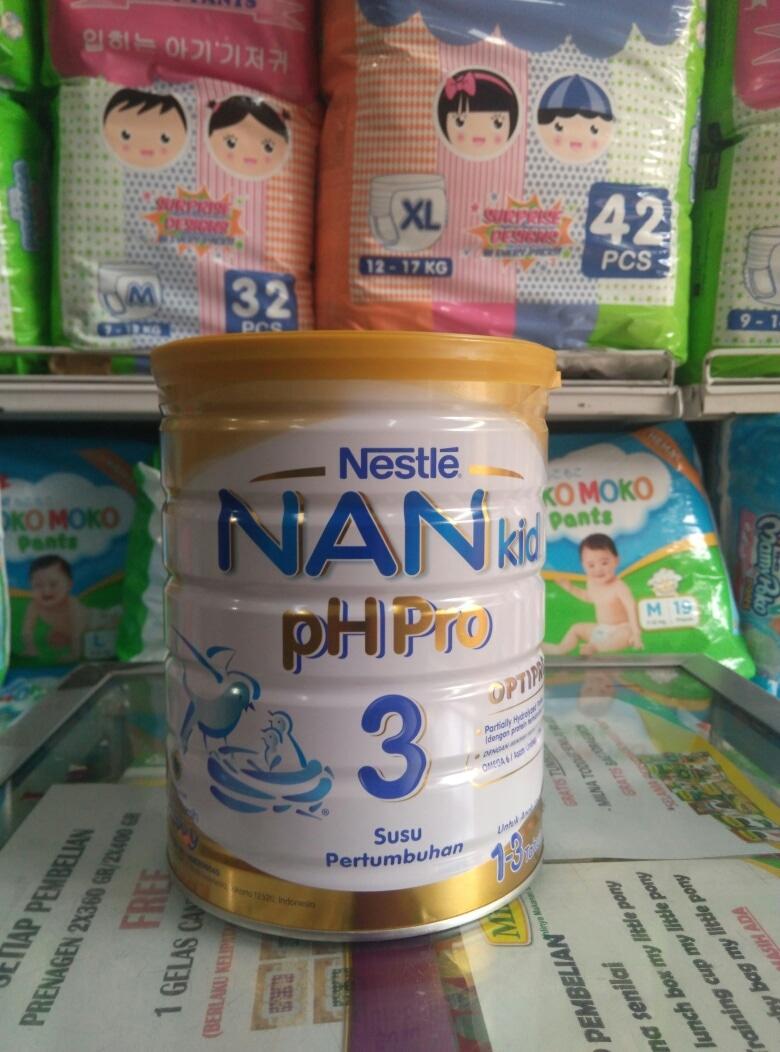 Promo Nan Ph Pro 3 800gr Terbaru 2018 2 800g Jual Kid Bandar Susu Jelambar Tokopedia
