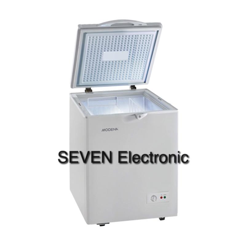 Modena Md 10 Abu Chest Freezer 100 Liter 120watt