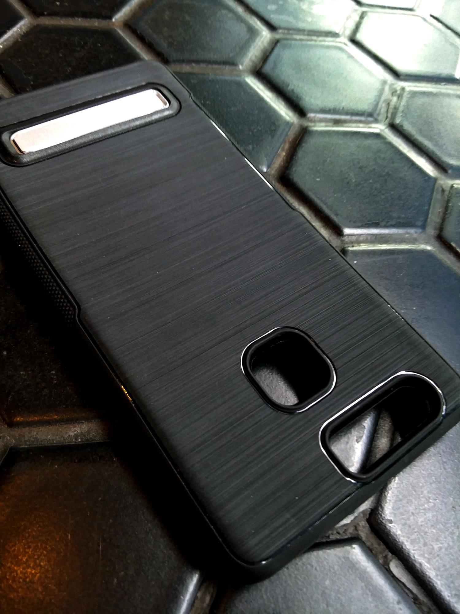 Huawei P9 Leica Luxury Brush Texture Thin Softgel Standing Case