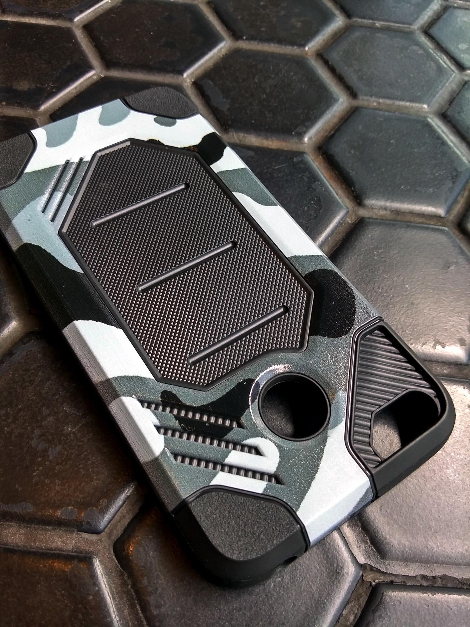 Xiaomi Redmi 4X Army Military Sport Tech Armor Soft Case Shockproof