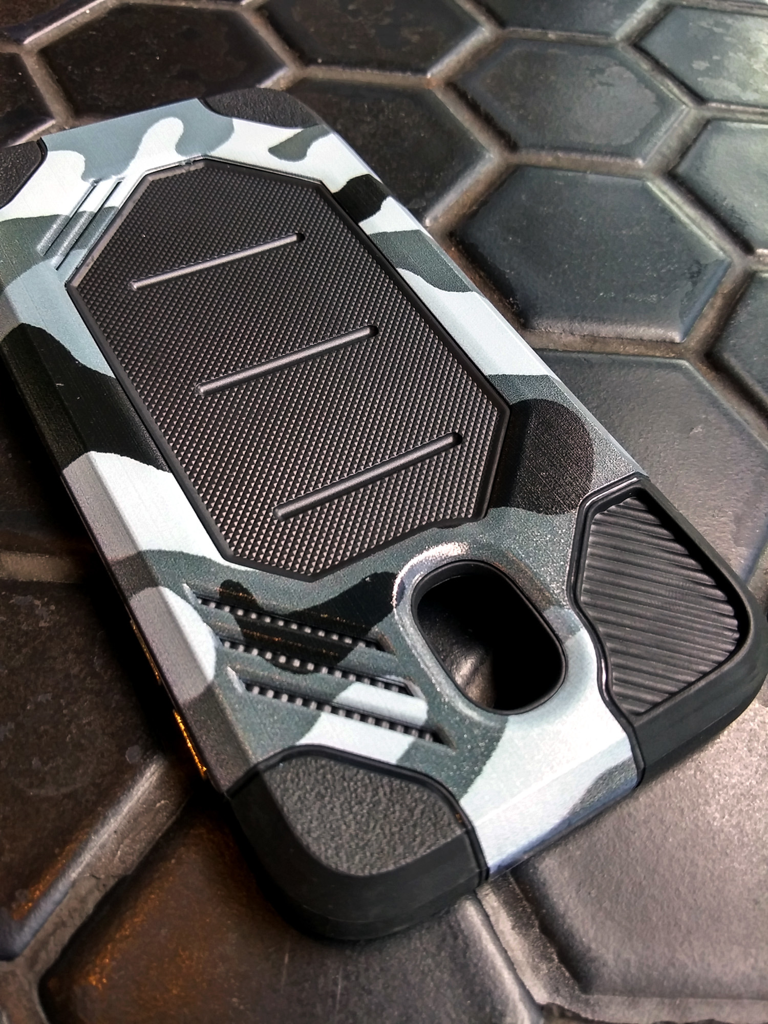 Samsung J7 Pro 2017 Army Military Sport Tech Armor Soft TPU Case