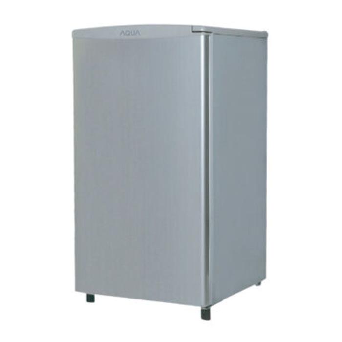 Freezer es batu 4rak Aqua AQF - S6,warna silver, murah