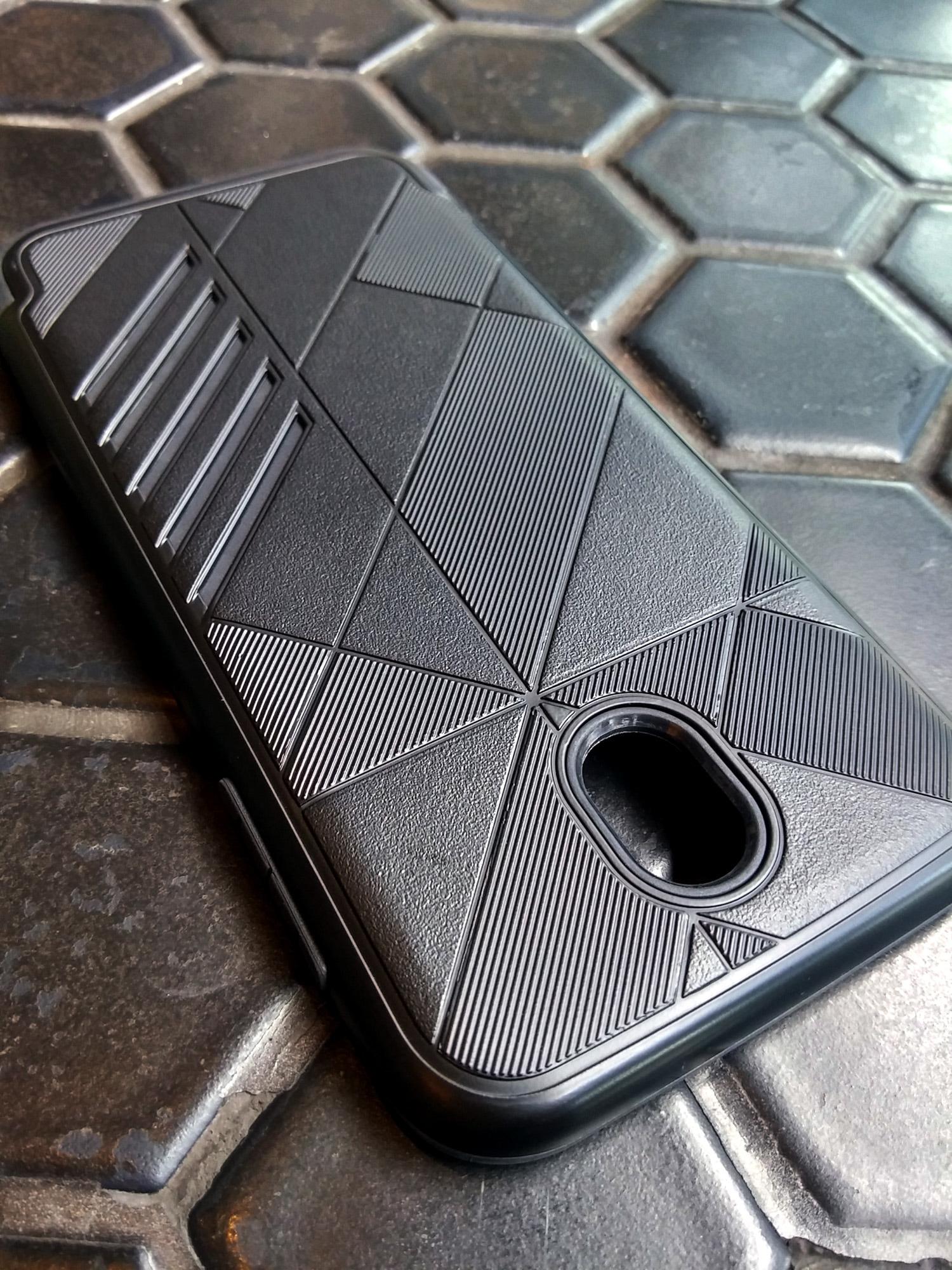 Samsung Galaxy J7 Pro 2017 Shark Stripe Elegant Dual Layer Armor Case
